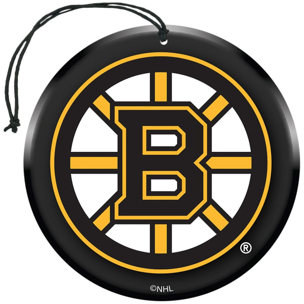 BOSTON BRUINS Air Fresheners, 3 Pack - GREY HOUNDSTOOTH