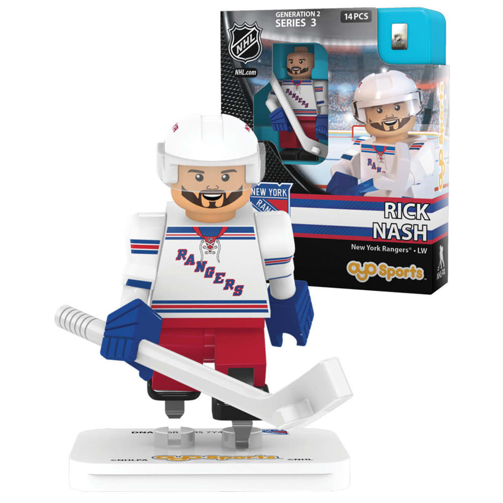 NEW YORK RANGERS Rick Nash Mini Figurine - RANGERS