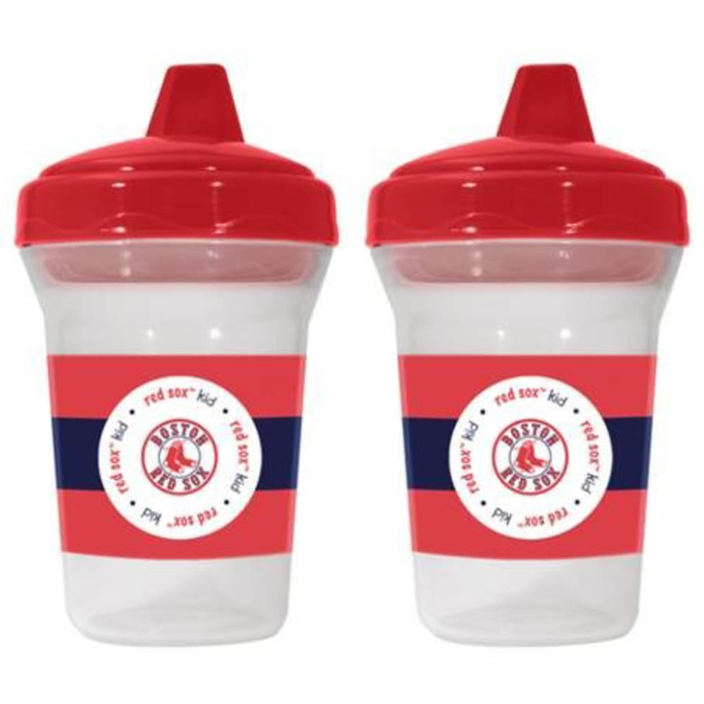 BOSTON RED SOX Sippy Cups, Set of 2 - NAVY