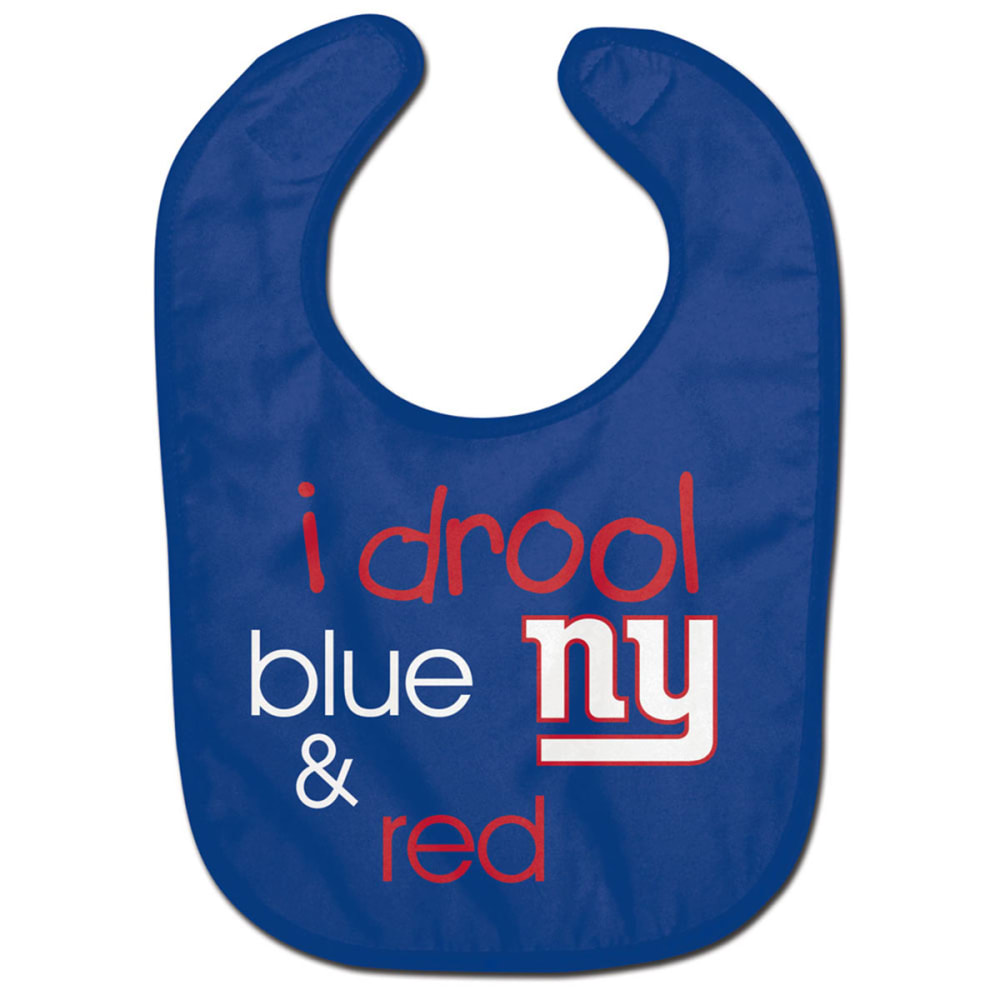 NEW YORK GIANTS Drool Blue Bib - ROYAL