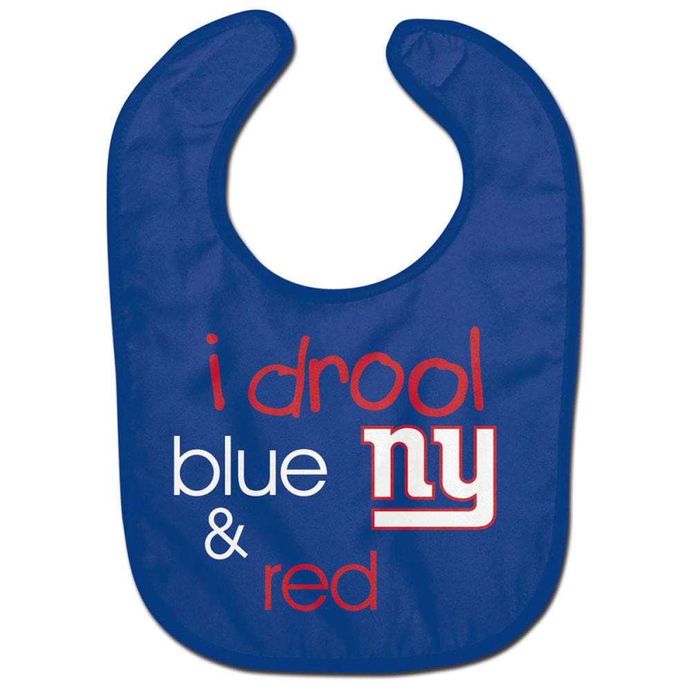 NEW YORK GIANTS Drool Blue Bib - ROYAL