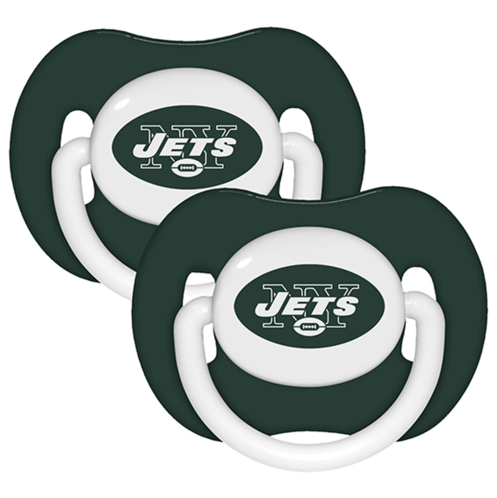 NEW YORK JETS 2 Pack Pacifier, 2 Pack - NOON BLUE