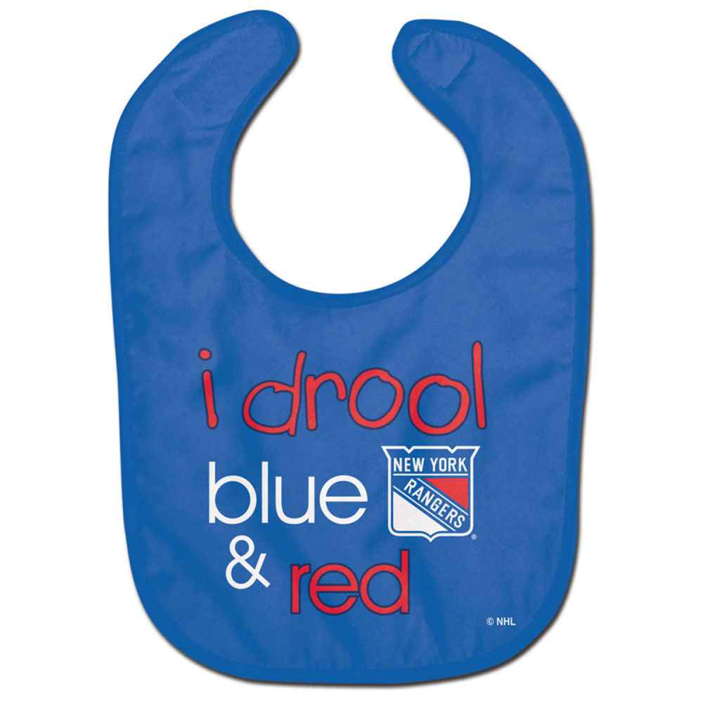 NEW YORK RANGERS Infants' Drool Blue All Pro Baby Bib - ROYAL