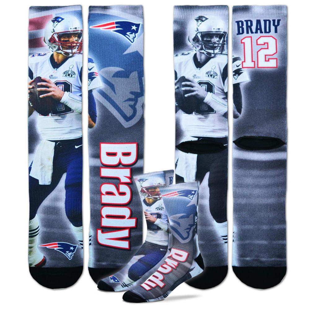 NEW ENGLAND PATRIOTS Men's Tom Brady Jersey Socks - ASSORTED
