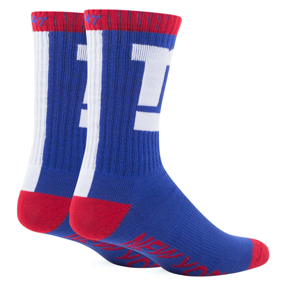 NEW YORK GIANTS '47 Bolt Striped Crew Socks - ASSORTED