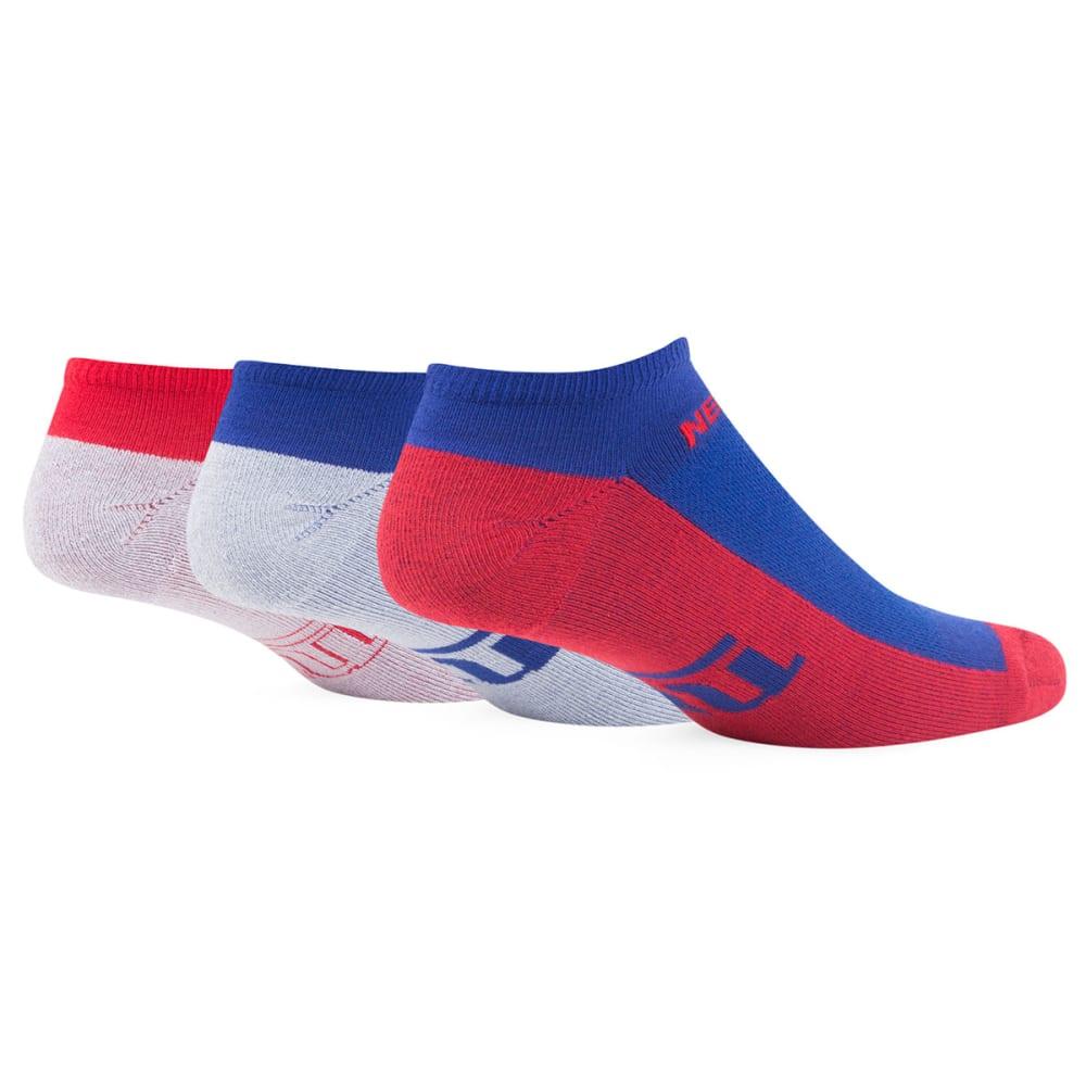 NEW YORK GIANTS Motion Socks 3-Pack - ASSORTED