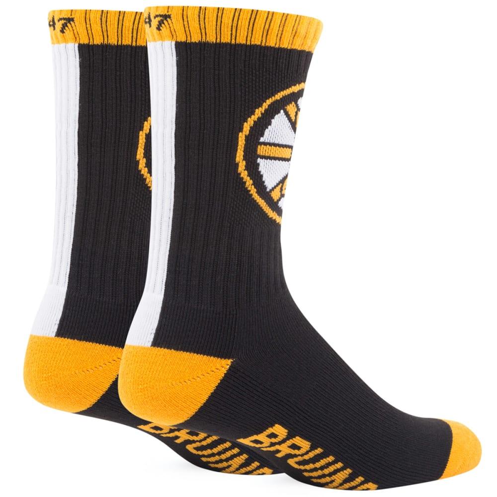 BOSTON BRUINS Bolt Crew Socks - ASSORTED