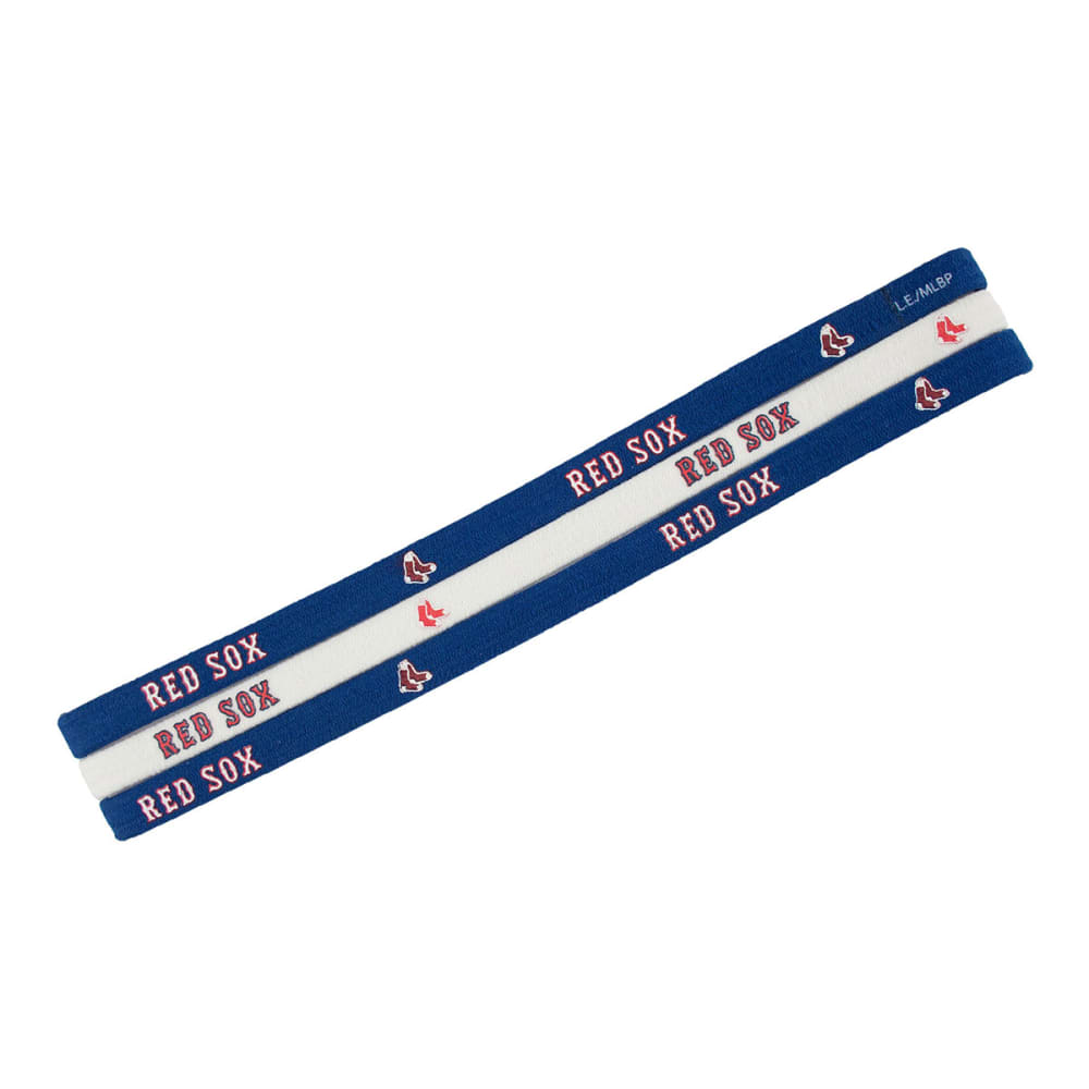 BOSTON RED SOX Elastic Headband, 3-Pack - RED SOX