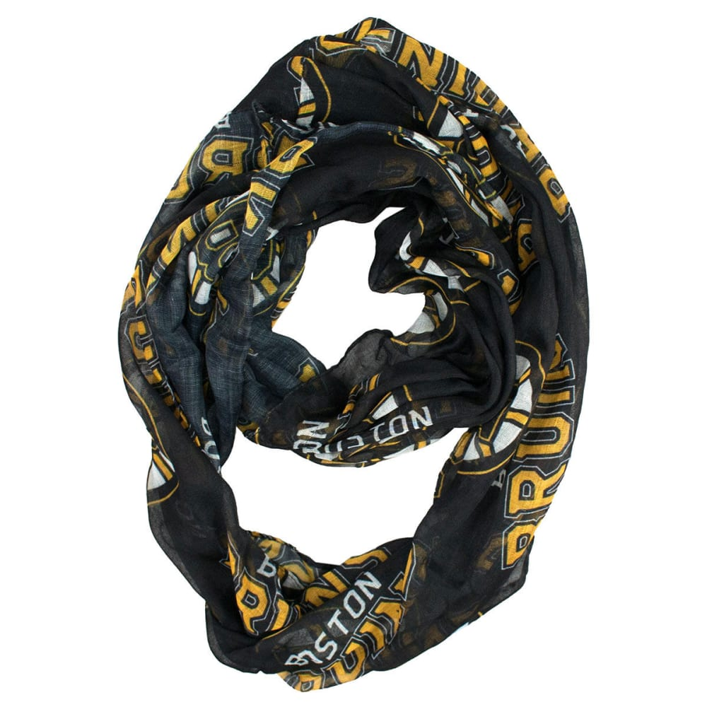 BOSTON BRUINS Women's Sheer Infinity Scarf - BRUINS