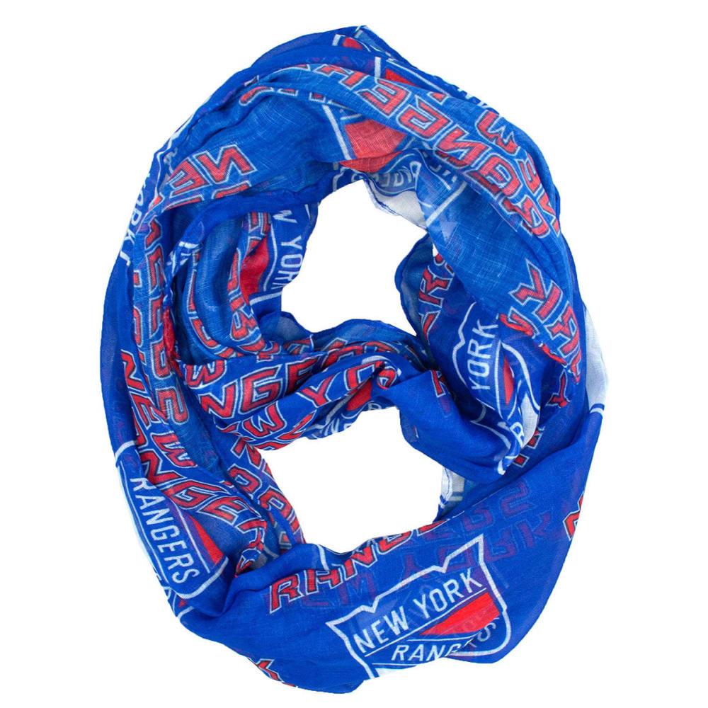 NEW YORK RANGERS Women's Sheer Infinity Scarf - RANGERS
