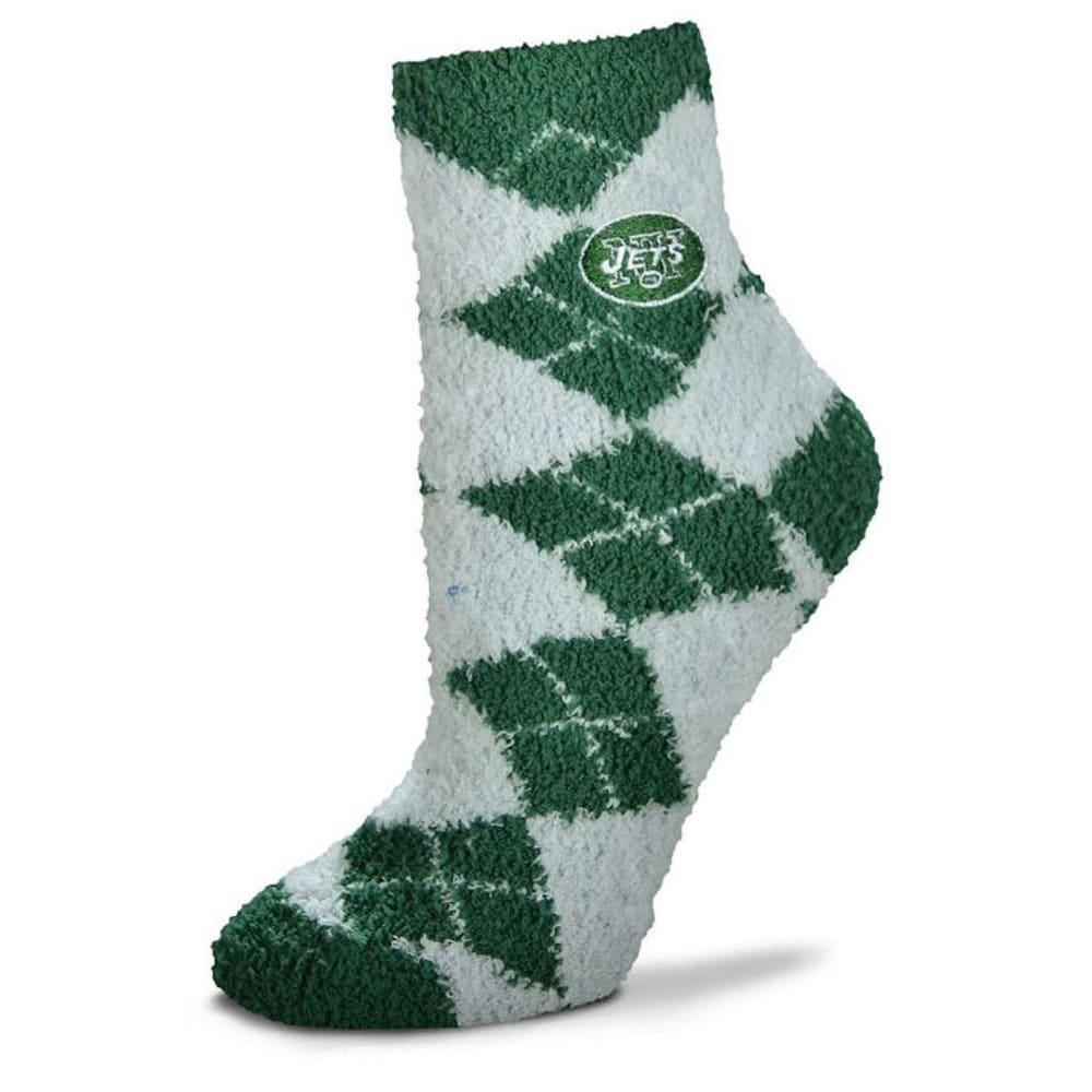 NEW YORK JETS Men's Argyle Sleep Socks - JETS