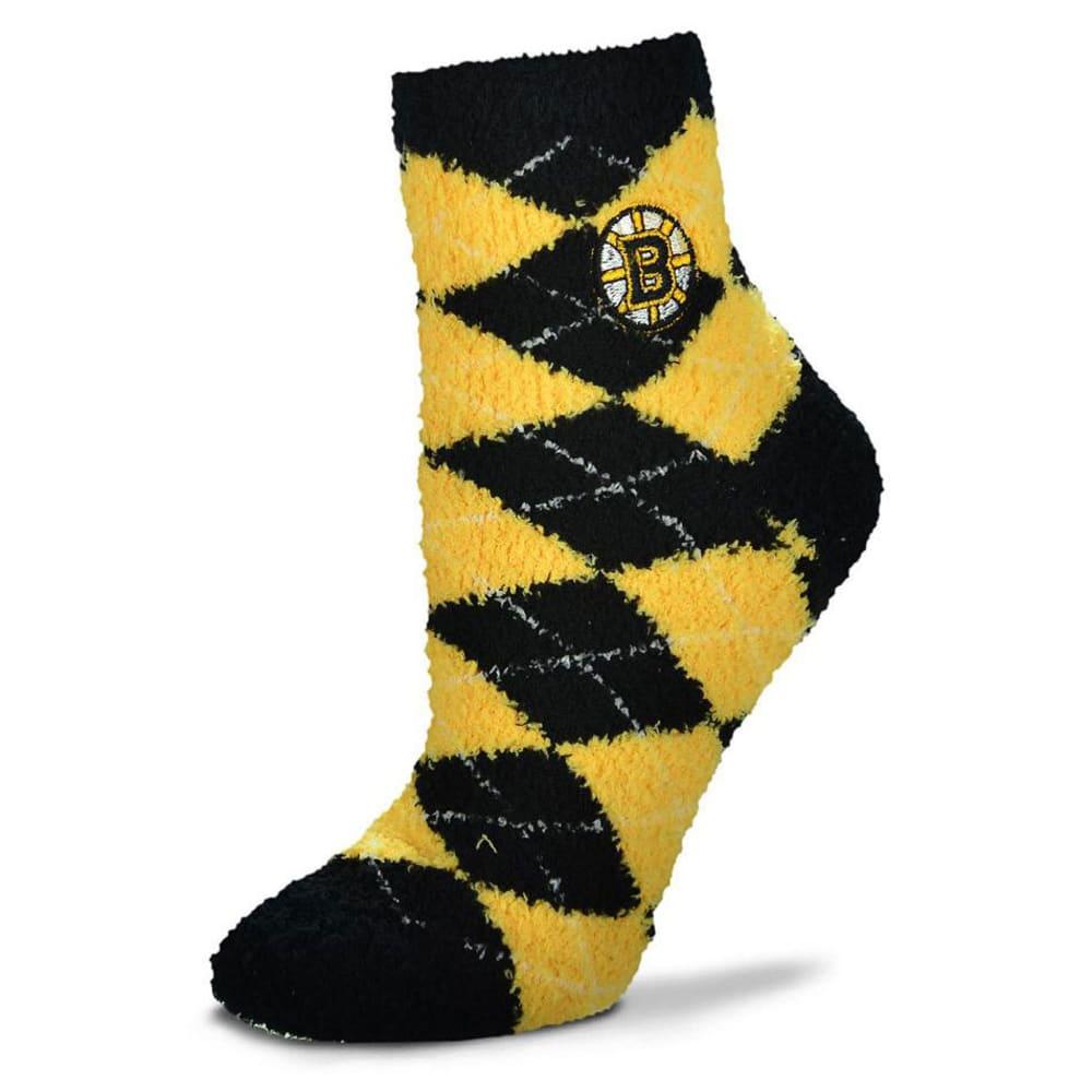 BOSTON BRUINS Men's Argyle Sleep Socks - THUNDER GREY