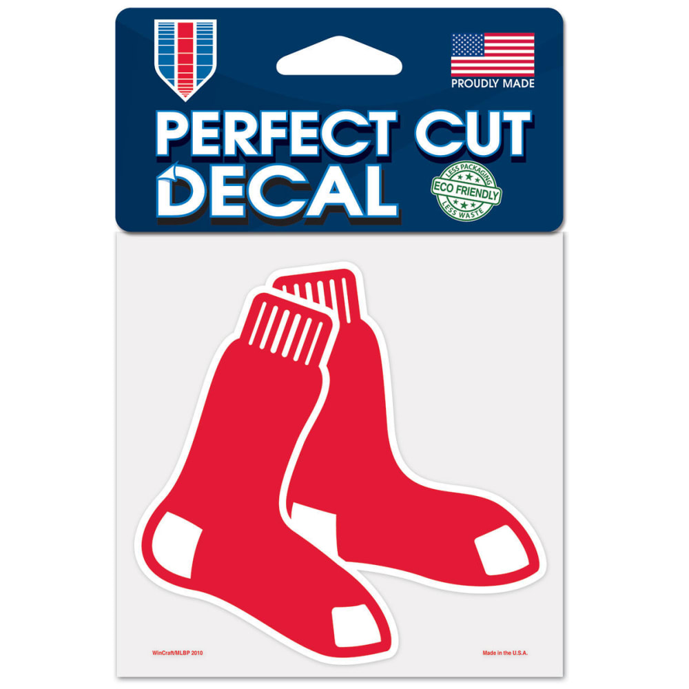 BOSTON RED SOX Perfect Cut Color Decal ONE SIZE