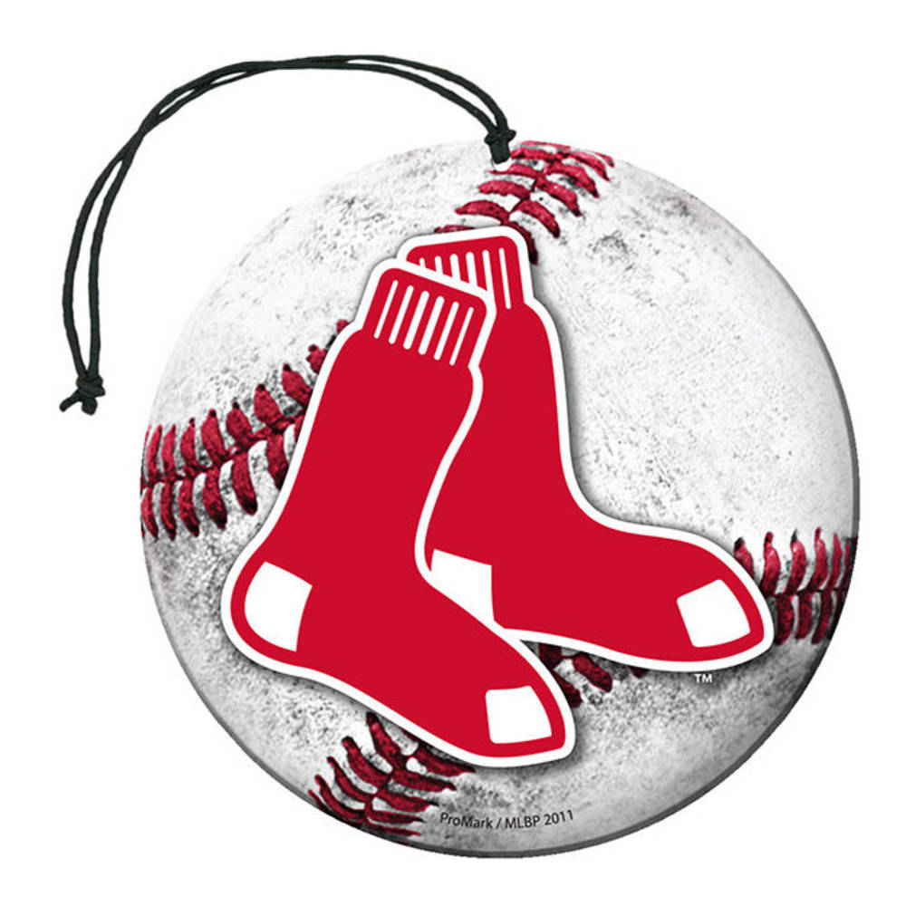 BOSTON RED SOX Air Freshener, 3-Pack ONE SIZE