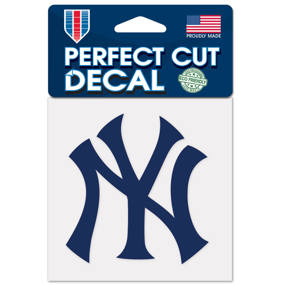NEW YORK YANKEES Perfect Cut Color Decal ONE SIZE