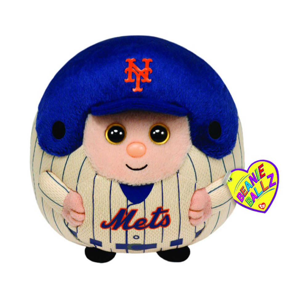 TY New York Mets Beanie Ballz - ASSORTED