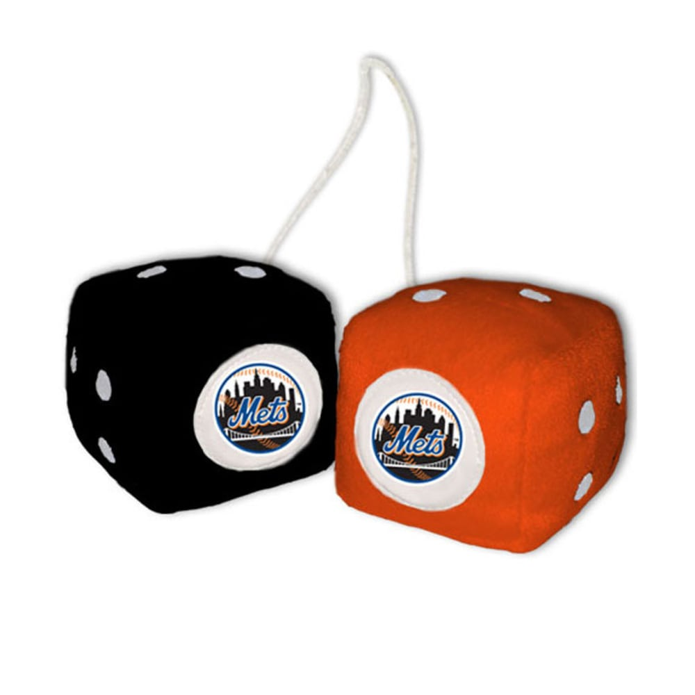 NEW YORK METS Fuzzy Dice - ASSORTED