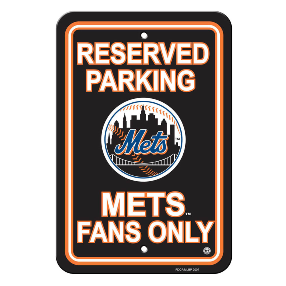 NEW YORK METS Parking Sign - ASSORTED
