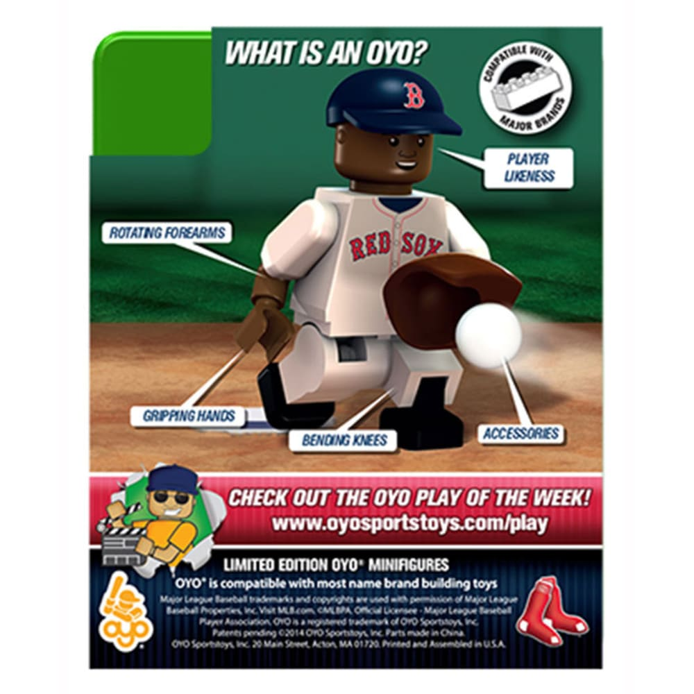 OYO SPORTSTOYS Boston Red Sox Xander Bogaerts Generation 3 Limited Edition Mini Figure - ASSORTED