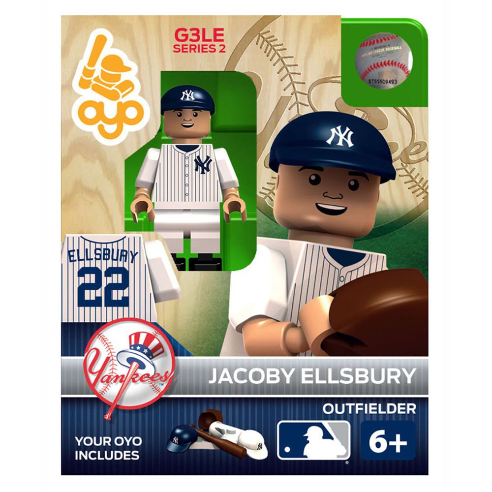 OYO SPORTSTOYS New York Yankees Jacoby Ellsbury Generation 3 Limited Edition Mini Figure - ASSORTED