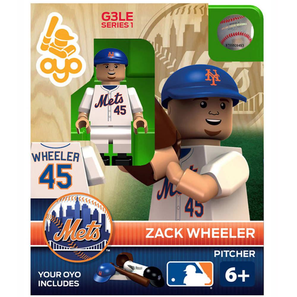 OYO SPORTSTOYS New York Mets Zack Wheeler Generation 3 Limited Edition Mini Figure - NINE IRON