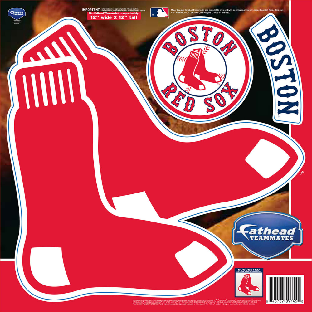 BOSTON RED SOX Team Logo - RED
