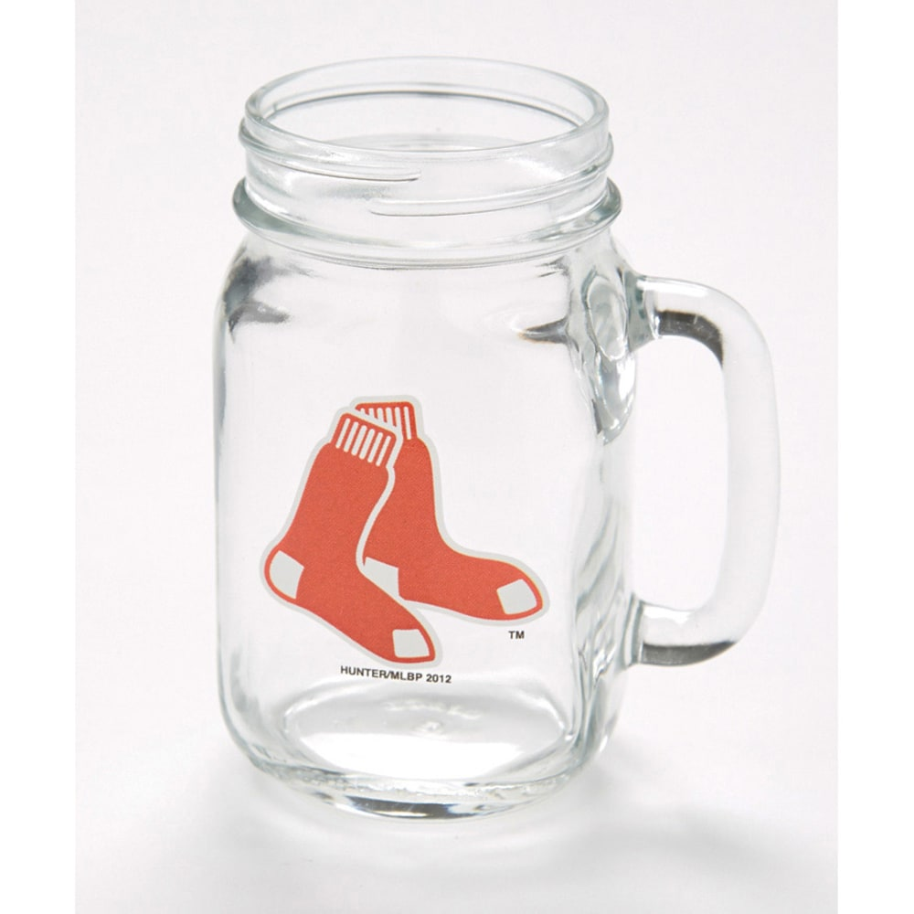 BOSTON RED SOX Mason Jar - ASSORTED