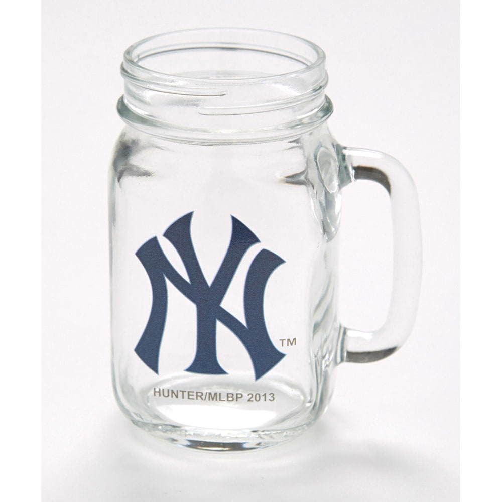 NEW YORK YANKEES Mason Jar - ASSORTED