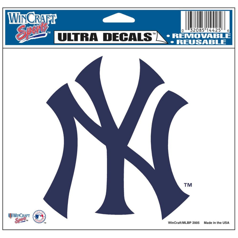 NEW YORK YANKEES Ultra Decal ONE SIZE