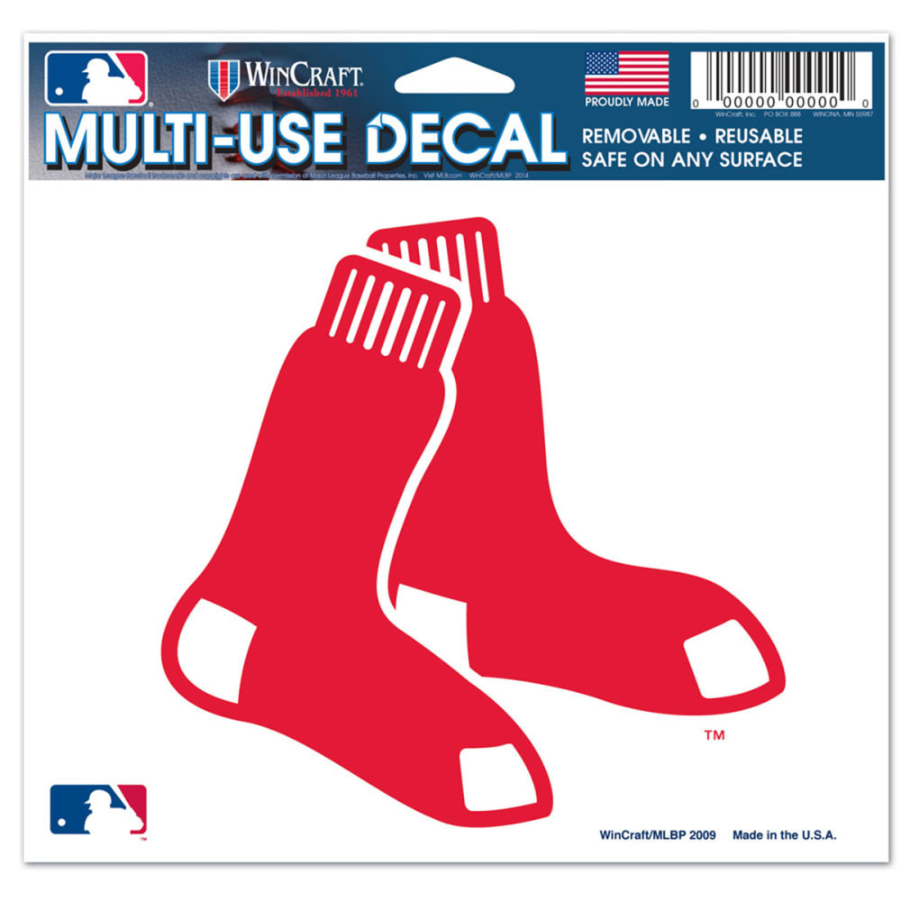 BOSTON RED SOX Multi-Use Ultra Decal - ASSORTED