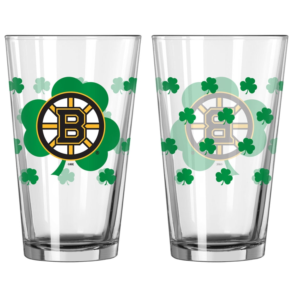 BOSTON BRUINS St. Patrick's Day Pint Glass ONE SIZE
