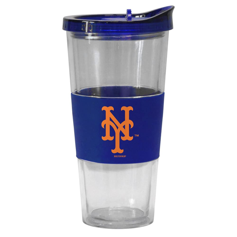 NEW YORK METS Slider Top Tumbler Compatible with Propeller Straw - ROYAL BLUE