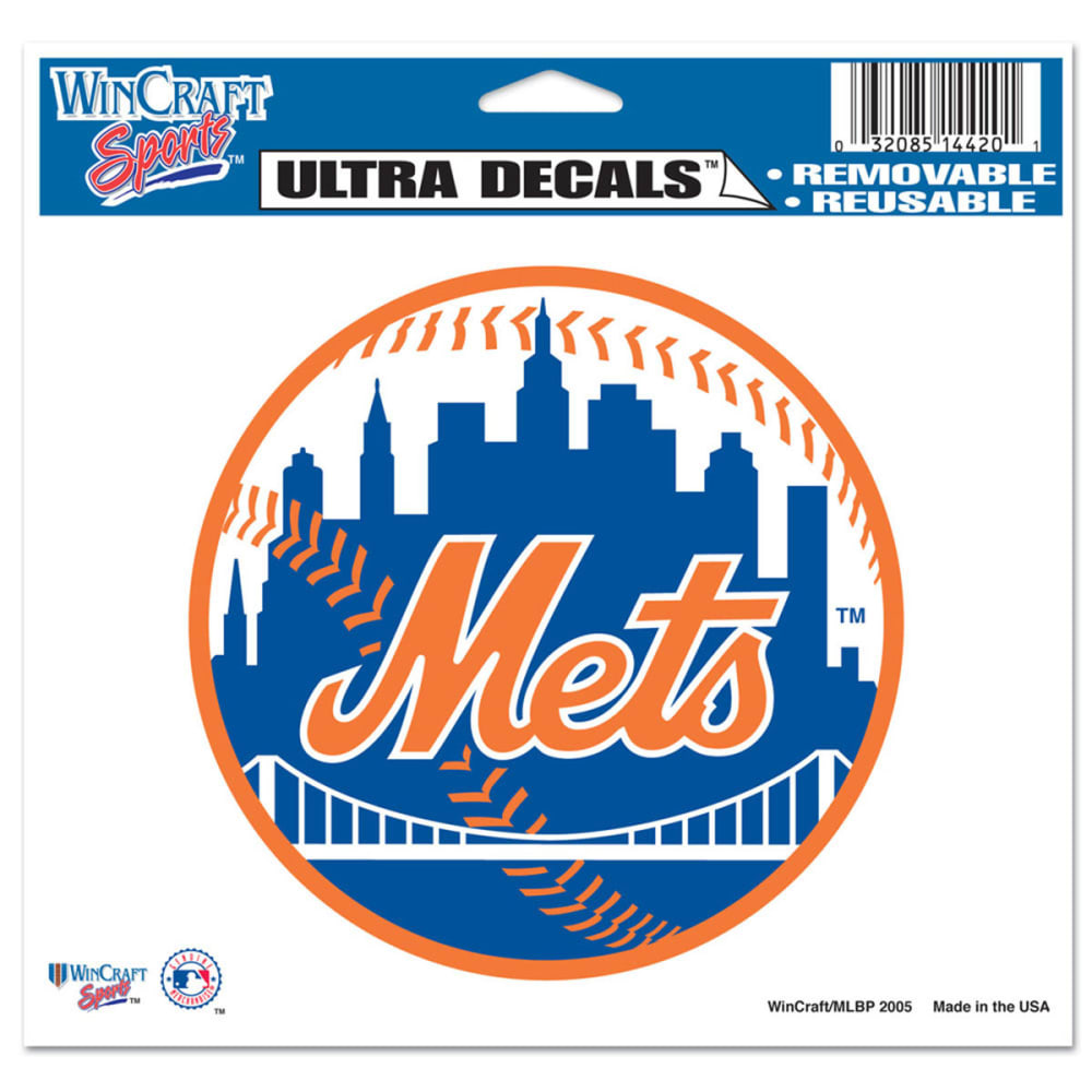 NEW YORK METS Multi-Use Ultra Decal - ASSORTED