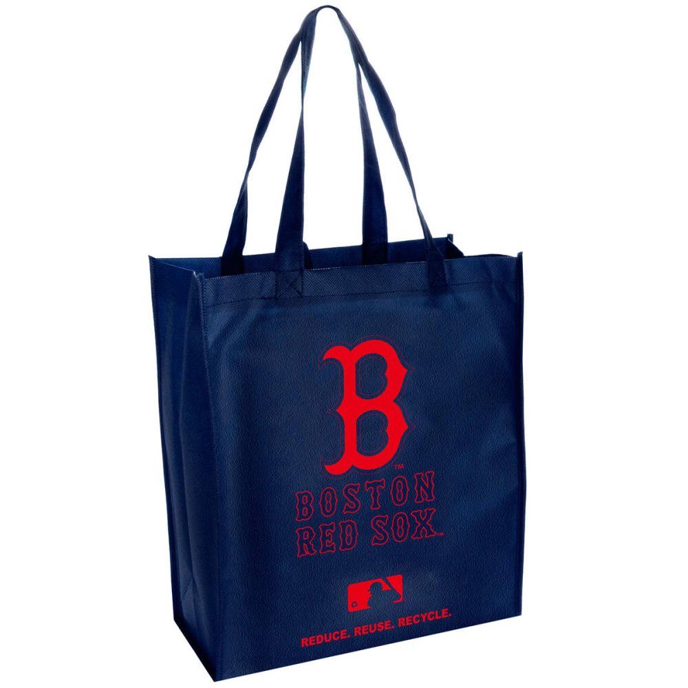 BOSTON RED SOX Cloth Reusable Bag - NAVY