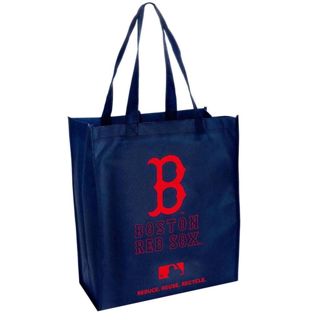 BOSTON RED SOX Cloth Reusable Bag - NAVY