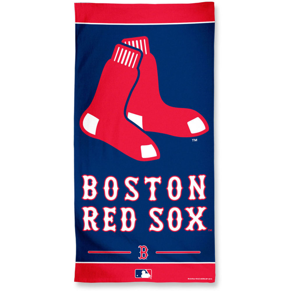 BOSTON RED SOX Beach Towel - BLOWOUT - NAVY