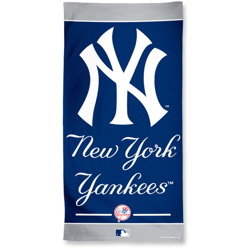 NEW YORK YANKEES Beach Towel - BLOWOUT - NAVY