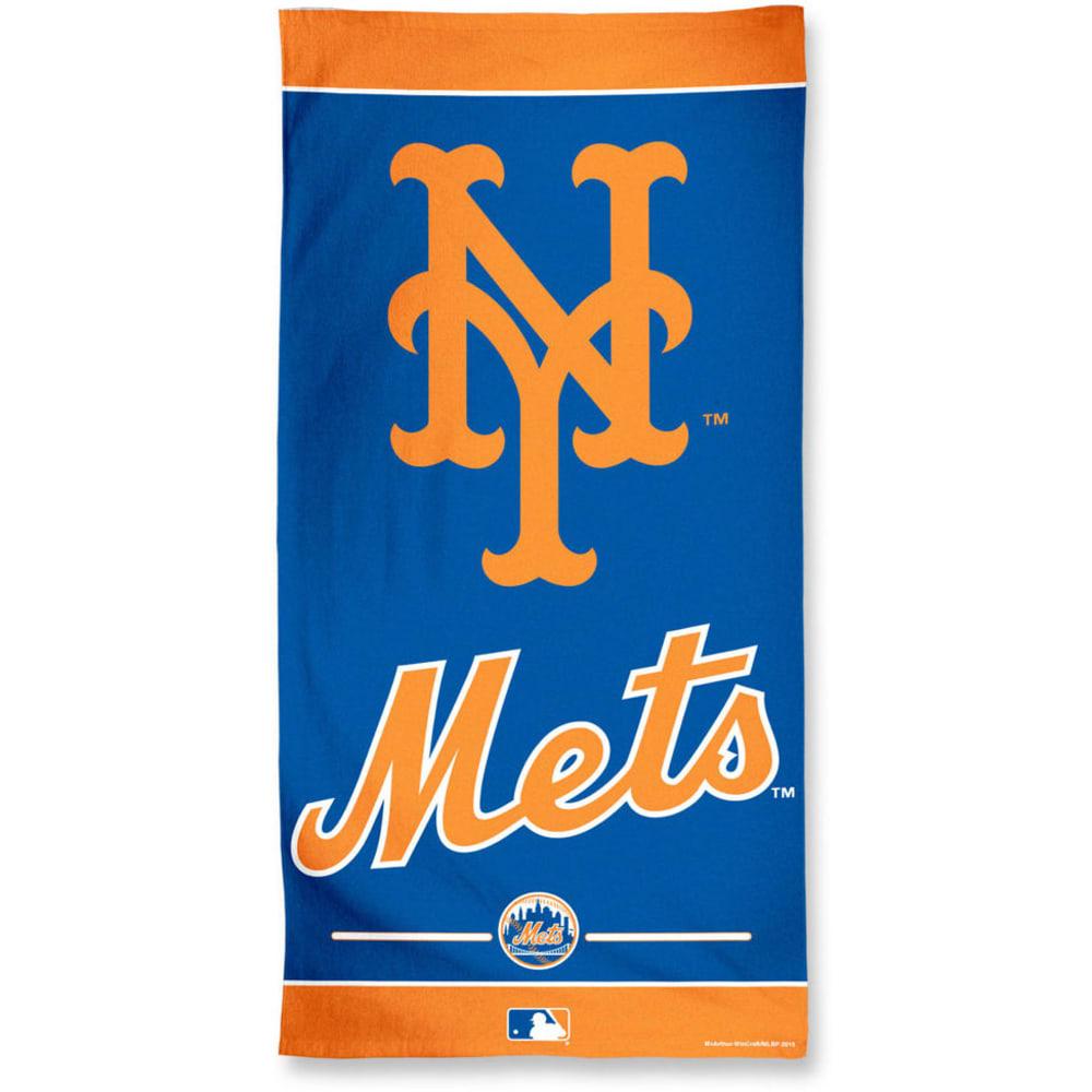 NEW YORK METS Beach Towel- BLOWOUT - ROYAL BLUE