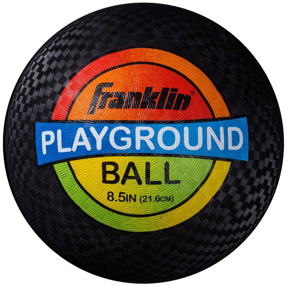 FRANKLIN Rubber Playground Ball - BLACK