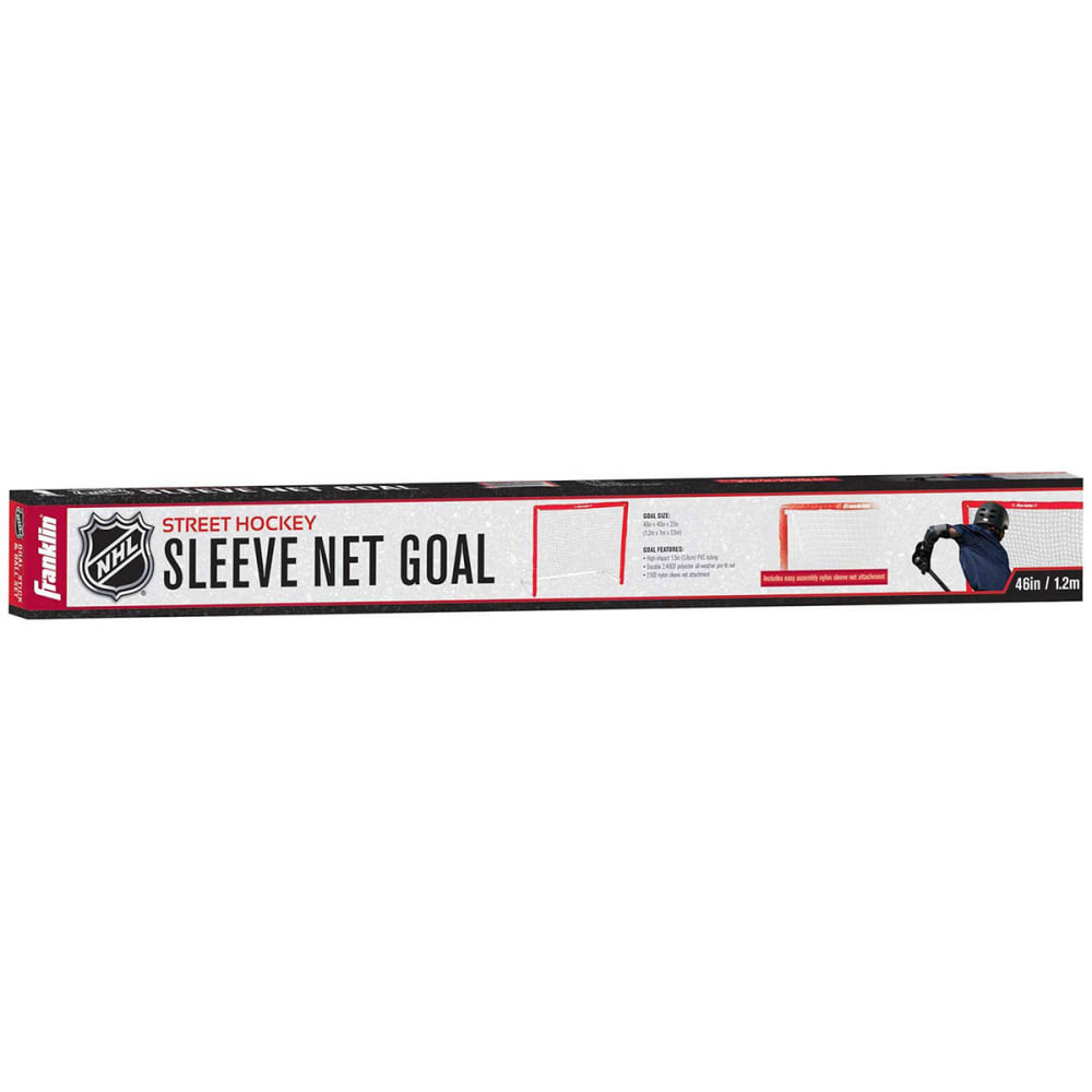 FRANKLIN NHL SX Comp 46 in. PVC Street Hockey Goal - BLACK