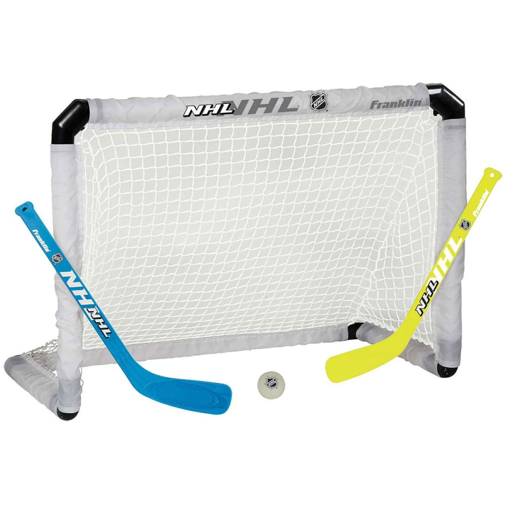 FRANKLIN NHL Mini Hockey Light-Up Goal Set - TEAL