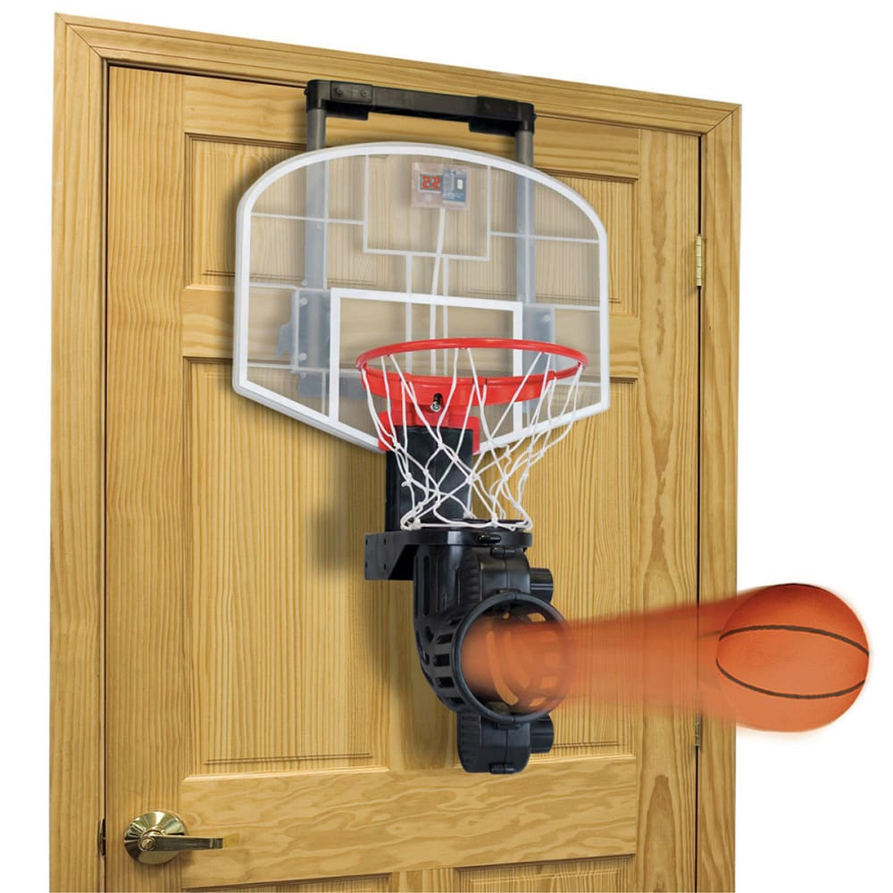 FRANKLIN Over-the-Door Mini Basketball Hoop with Rebounder - TEAL