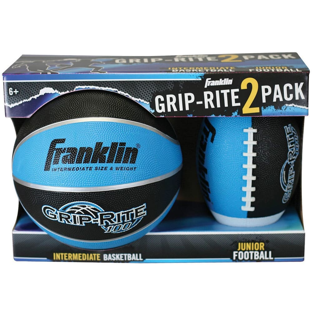 FRANKLIN Junior 2 Pack Sport Ball Set - BLUE