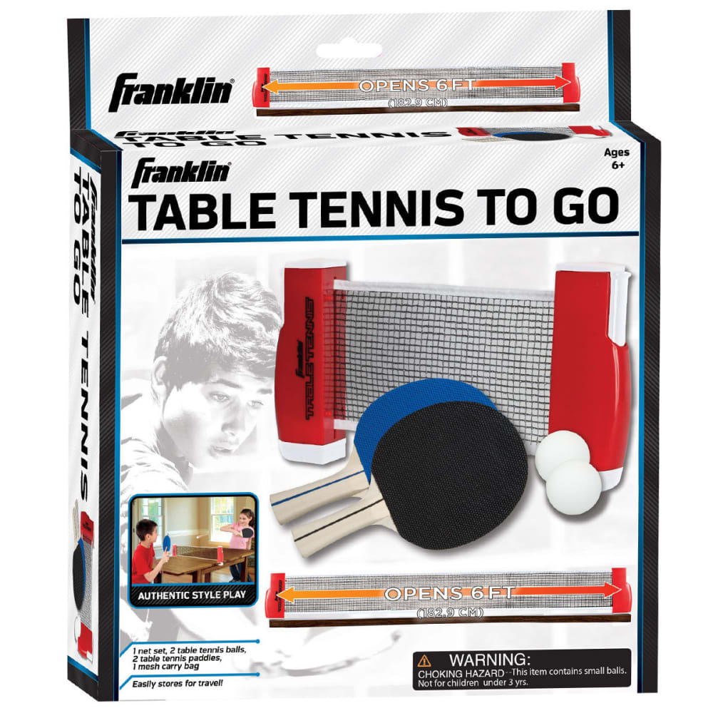 FRANKLIN Table Tennis To-Go Set - TEAL