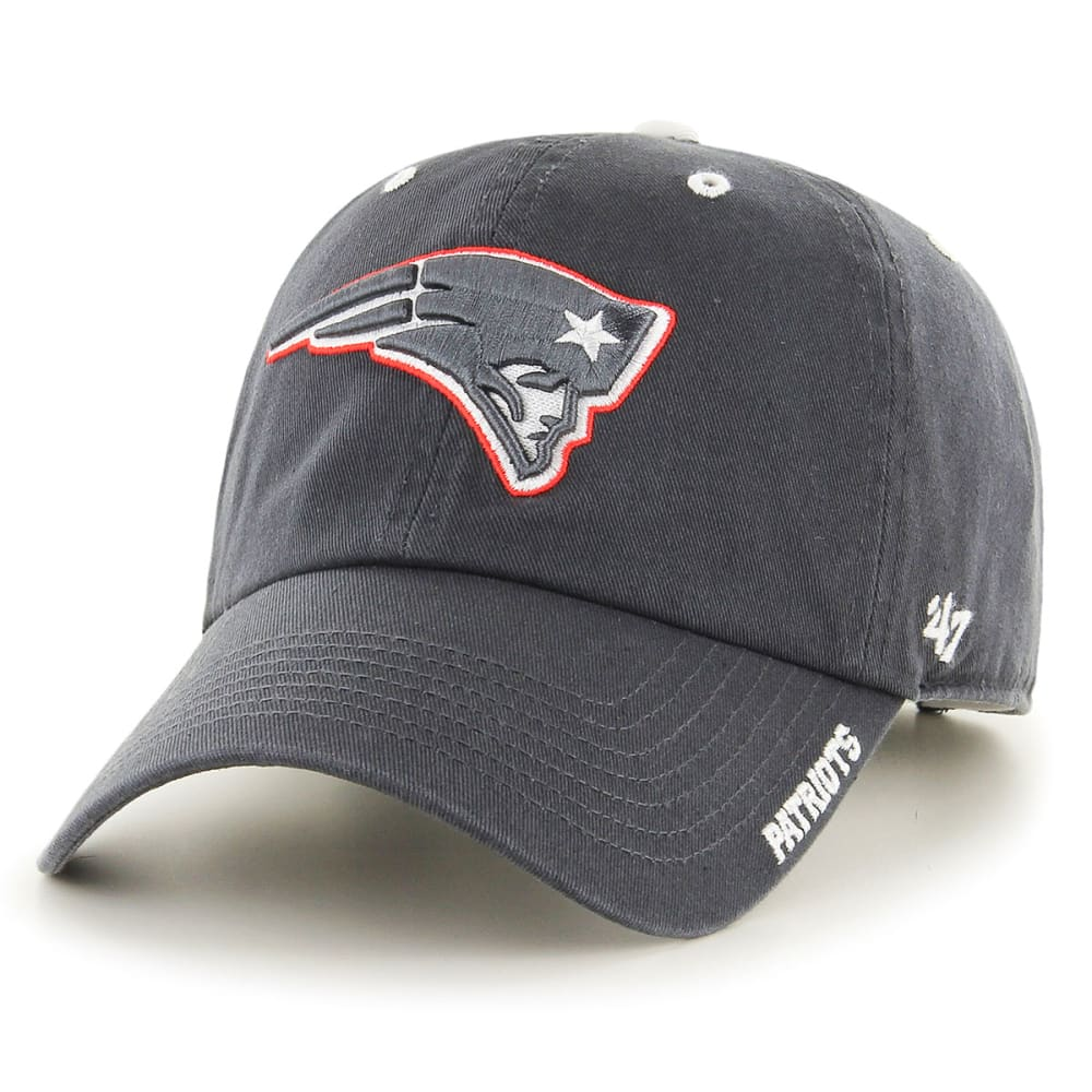 NEW ENGLAND PATRIOTS Ice Clean up Adjustable Cap - GREY