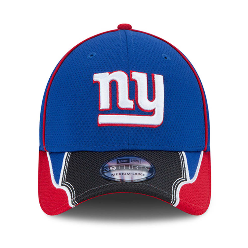 NEW YORK GIANTS Pipe Force 39Thirty Flex Hat - ROYAL BLUE/BLACK