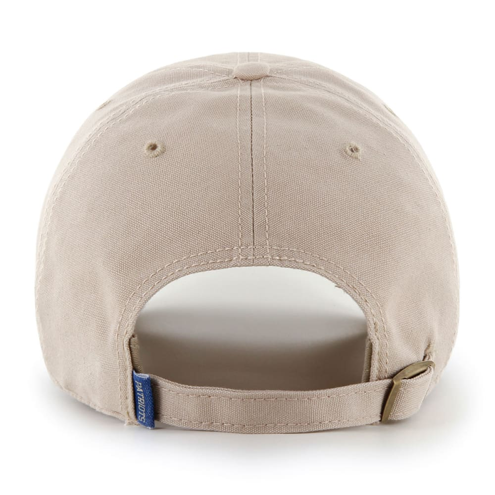 NEW ENGLAND PATRIOTS Wright Clean Up Adjustable Cap - KHAKI