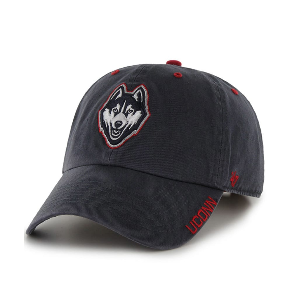 UCONN Ice '47 Clean Up Adjustable Cap - NAVY