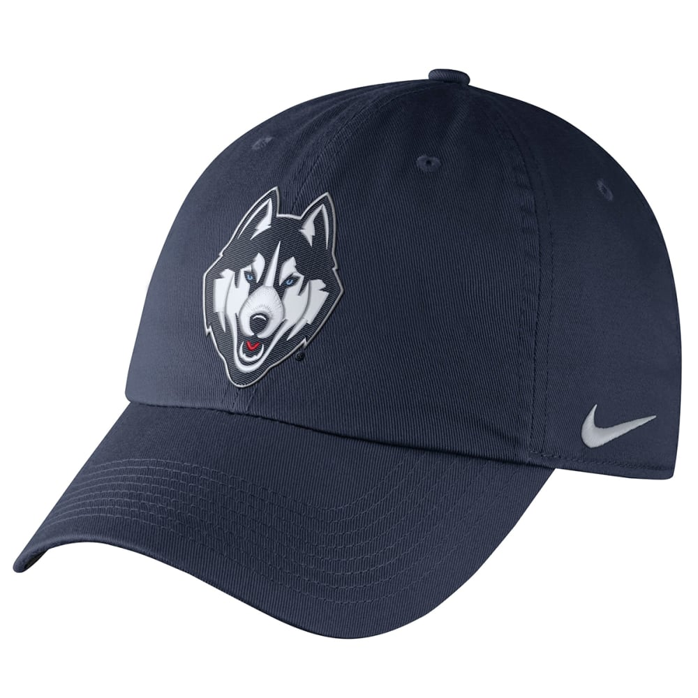 UCONN HUSKIES Nike Men's Dri-FIT Adjustable Cap - NAVY UC1