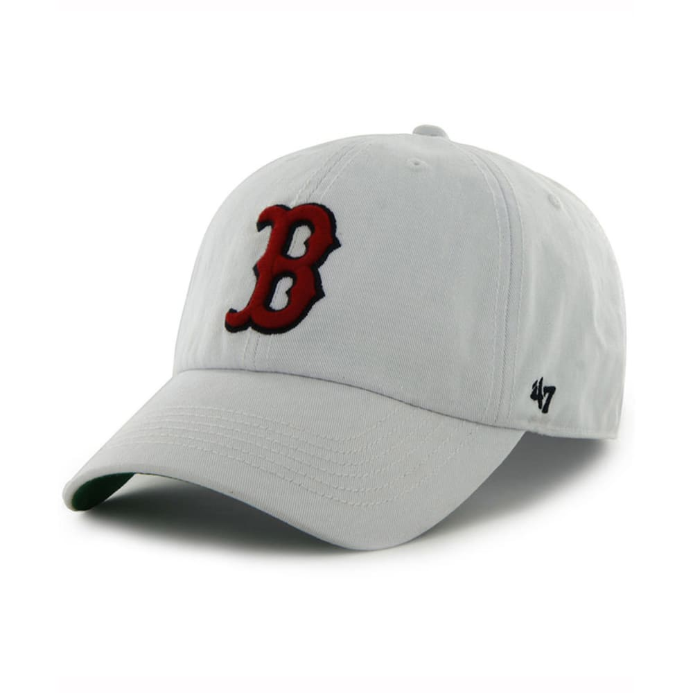 BOSTON RED SOX Franchise Fitted Hat, White - WHITE